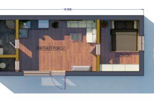 RMG modulový dům medium varianta M2