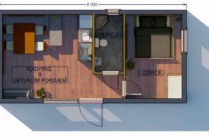 RMG modulový dům small varianta S2