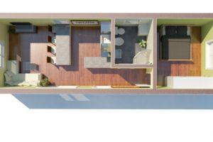 RMG modulový dům varianta Large L1