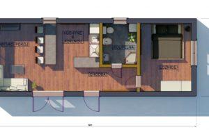 RMG modulový dům varianta Large L2