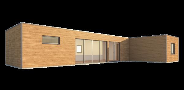 RMG modulový dům varianta Dvojmodul L1