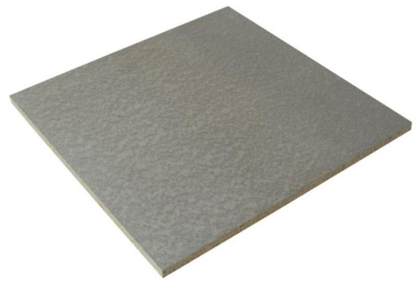 deskový fasádní systém - materiál
