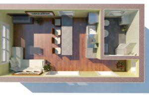 RMG modulový dům mini varianta A