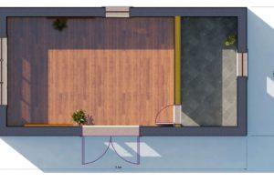 RMG modulový dům mini varianta pouze stavba