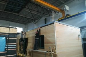 Jednomodul Large 4x12m / Lošonec (SK)