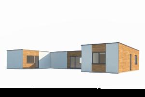 RMG trojmodul U omítka a dřevo