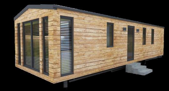 Celoroční mobilní dům POLAR WOOD